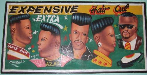 Expensive haircuts