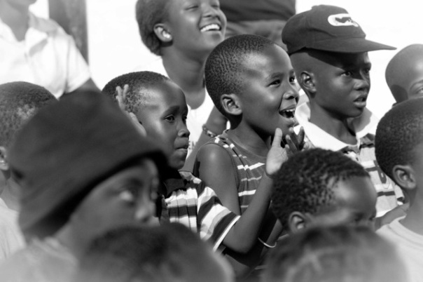 Kids at The Waterberg Welfare Society in South Africa