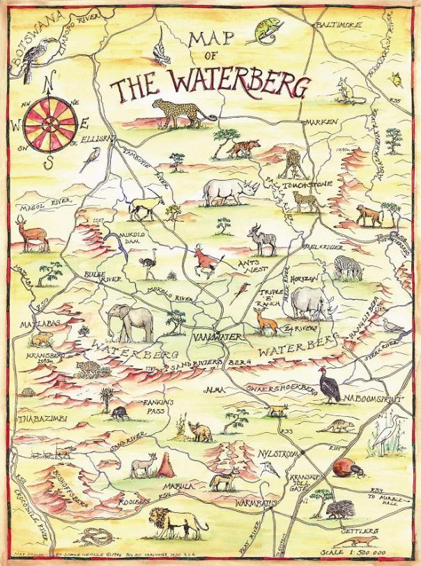 The Waterberg Map