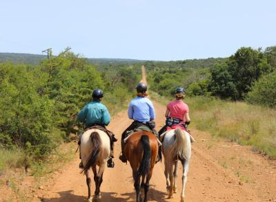 Leading the Waterberg Charity Ride