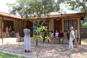 The Waterberg Charity Ride visits WWS