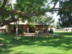 The lodge at Horizon Horseback