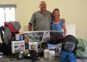 Save The Waterberg Rhino anti-poaching equipment