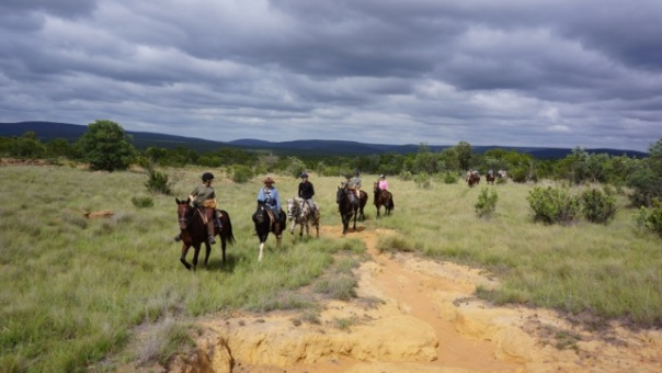 Riding through Lapala Wilderness