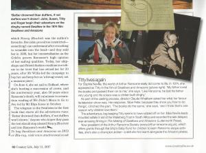 The Waterberg Trust Challenge Ride mentioned in Country Life 12