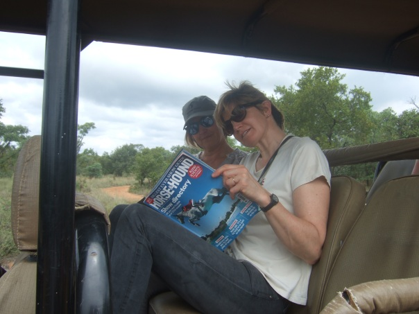 Reading Horse & Hound in South Africa