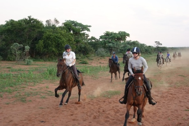 TWT Riders cantering on Jembisa