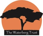 The Waterberg Trust Logo with white writing