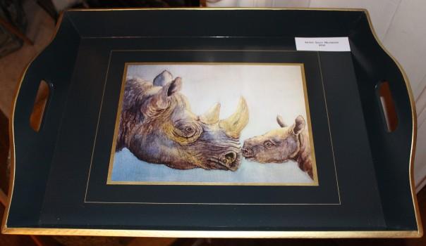 Elfinglen rhino tray for sale in aid of TWT