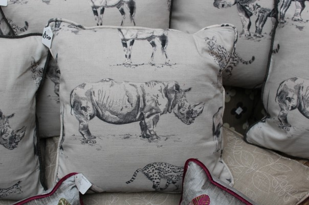 Cushions for sale in aid of TWT