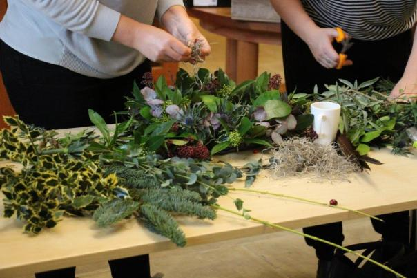 TWT Wreath making 10