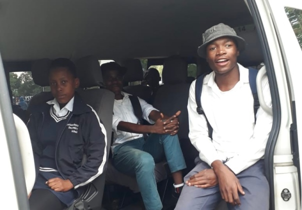 TWT pupils going to Welgrovenden