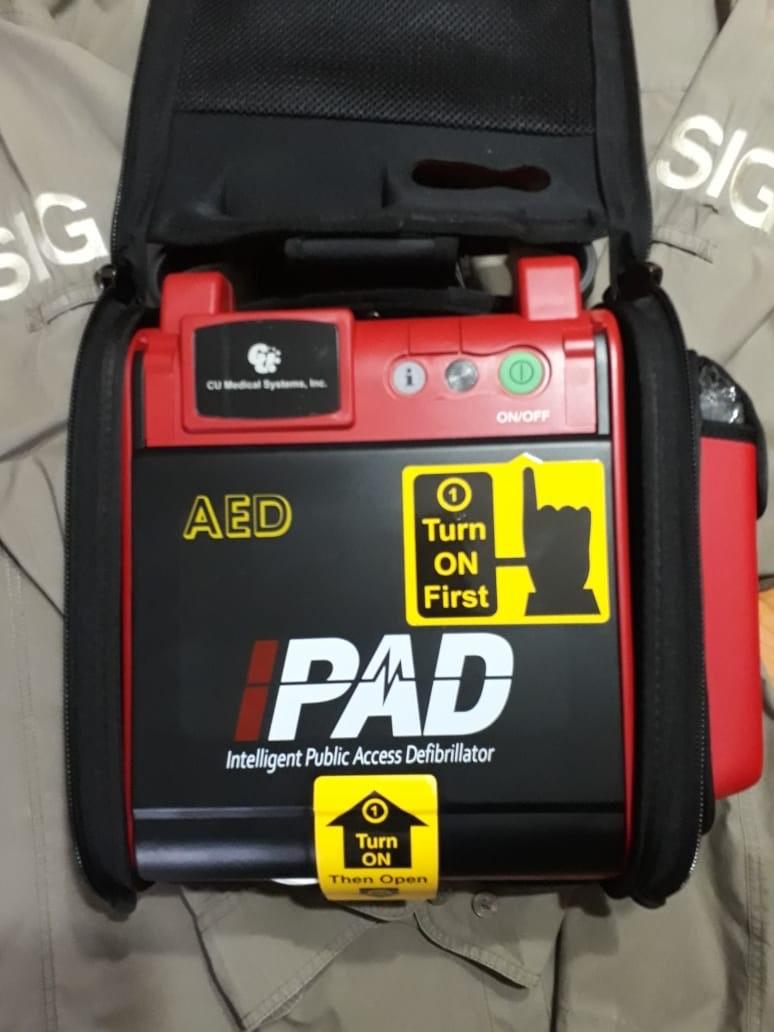 TWT SIG defibrillator