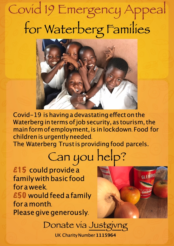 Covid 19 Appeal for Waterberg Families 2