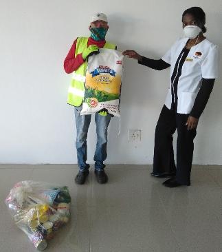 The Waterberg Trust Food Parcel distribution during Lockdown